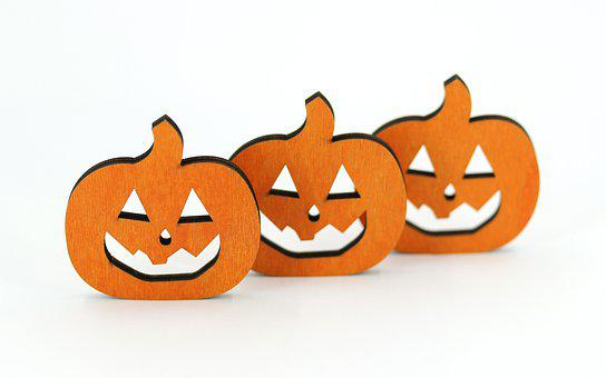 Decoration, Halloween, Pumpkin, Orange, Autumn Motives