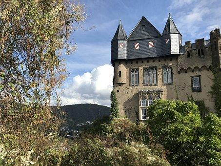 Castle, Middle Rhine, Rhine, Germany