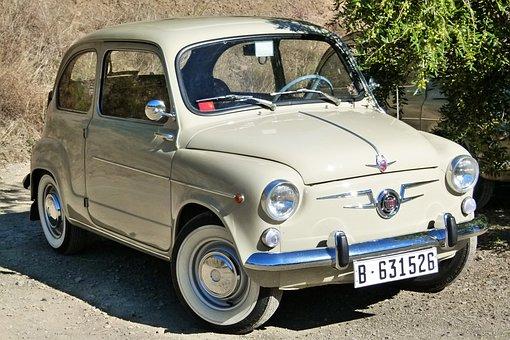 Seat 600, Seat, 600, Antique Car, Classic