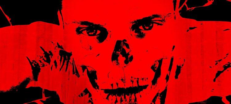 Halloween, Face, Horror, Body, Bone, Brain, Skull