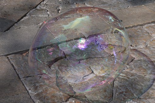 Soap Bubble, Bubble, Colorful, Iridescent, Street Art