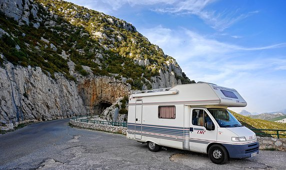 Mobile Home, Holiday, Camping, Travel, Adventure, Road