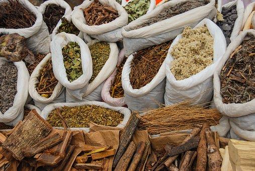 Medicine Plants, Cat's Claw, Eucalyptus, Wood, Leaves