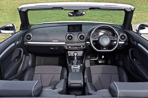 Car, Interior, Vehicle, Automobile, Auto