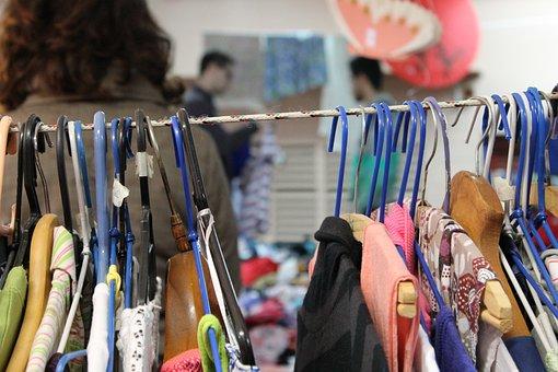 Bazar, Thrift Store, Organization, Cabinet, Clothes