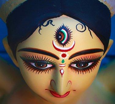 Durga Puja, Kolkata, India, Calcutta, Idol Worship