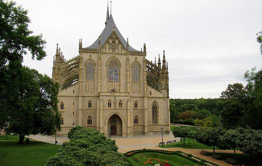 Kutna Hora, Cathedral Of St Barbara, Park
