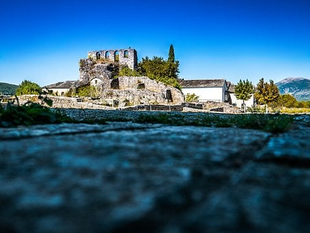 Castle, Citadel, Kale, Ioannina, Greece, Buildings