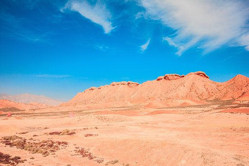 The Silk Road, Danxia, Geology, Colorful