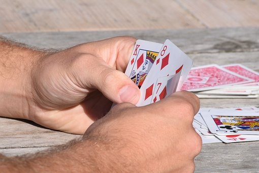 Cards, Hands, Playing Cards, King, Diamonds