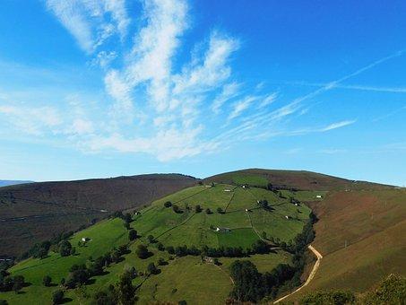 Vega De Pas, Landscape, Sky, Cantabria, Mountain