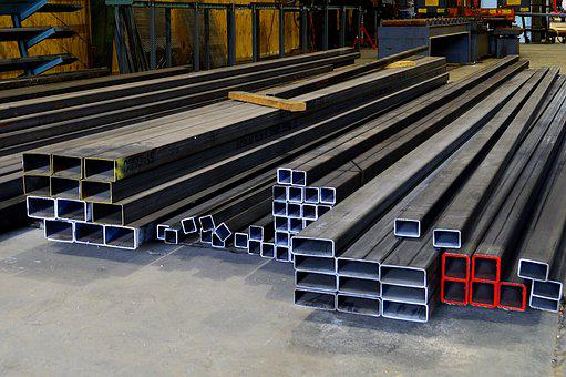 Steel, Materials, Raw, Channel, Metal, Iron, Industrial