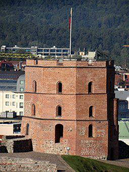 The Hill Of Gediminas, Upper Castle, Monument, Tower
