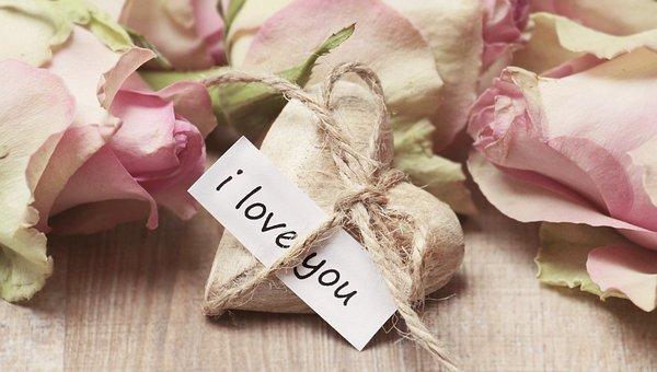 Roses, Wooden Heart, Heart, Heart Shaped, Love, Mother
