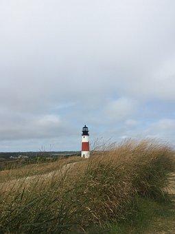 Nantucket, Light House, Lighthouse, Massachusetts