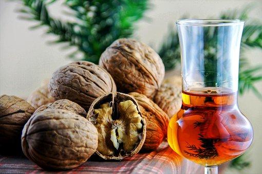 Nuts, Liqueur, Walnut, Healthy, Walnuts, Eat, Nut