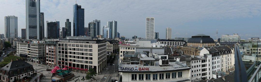 Frankfurt, Panoramic Views, Skyline, City
