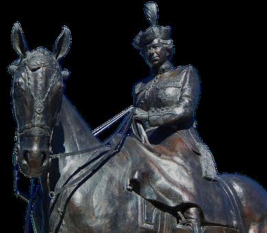 Queen Elisabeth, Statue, Queen, Woman, Historically