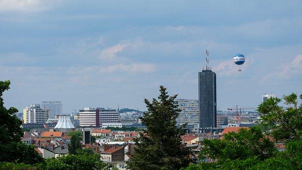 Kreuzberg, Outlook, Berlin, Tipi, Charité, Germany, Sky