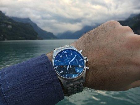 Watch, Wristwatch, Iwc, Pilot Watch, Sea, Switzerland
