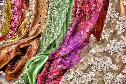 Fabric, Textile, Cloth, Material, Fiber, Design