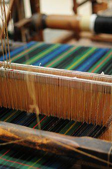 Weaving, Sewing, Craft, Fabric, Textile, Cotton, Thread