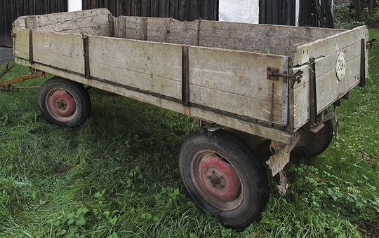 Trailers, Rubber Car, Agriculture