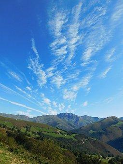 Vega De Pas, Cantabria, Valle Pasiego, Clear, Cloud