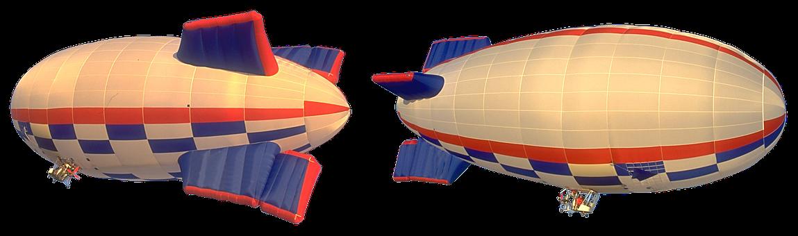 The Airship, Zeppelin, Aviation, Ballooning, Flight