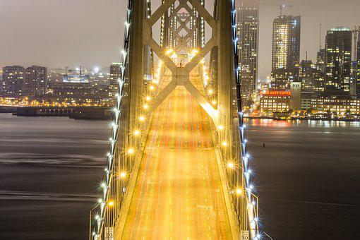 Bay Bridge, San Francisco, Oakland, California