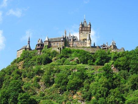 Castle, Imperial Castle, Cochem, Middle Ages
