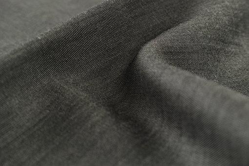 Grey, Fabric, Textile, Macro, Detail, Design