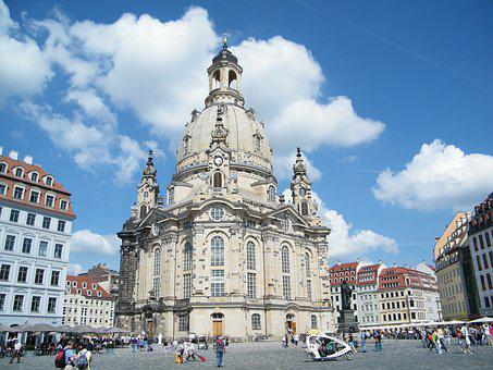 Dresden, Frauenkirche, Frauenkirche Dresden, Germany