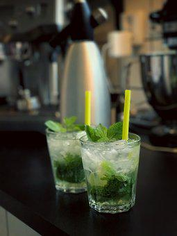 Drink, Mojito, Rome, Lime, Fest, Mint