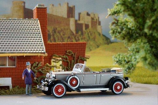 Diorama, Model Train, Model Railway, Model Car