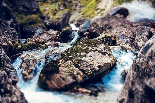 Mountains, River, Landscape, Nature, Mountain Stream