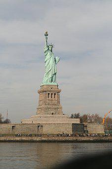 The Statue Of Liberty, New York, United States