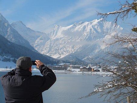 Pertisau Am Achensee, Lake, Austria, Achensee, Pertisau