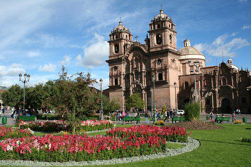 Peru, Church, Gardens