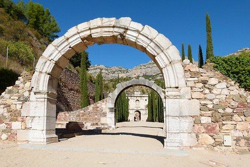Scala Dei, Monastery, Priorat, Catalunya, Ruins