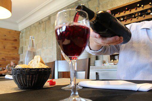 Red Wine, Glass, Bottle, Red, Liquor, Cup, Drink