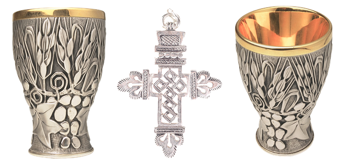 Cross, Cup, Bowl, Religion, Grail, History, Gold Cup