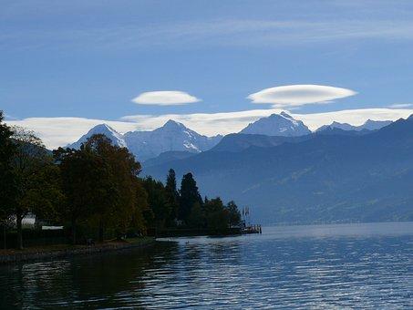 Lake Thun, Thun, Switzerland, Ufos Out Of The Thunerse