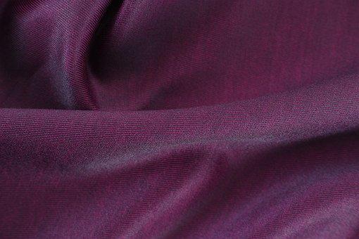 Purple, Fabric, Textile, Macro, Detail, Design