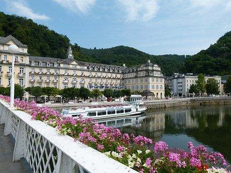 Kurhaus, Spa Hotel, Tourism, Lahn, The Lahn Valley