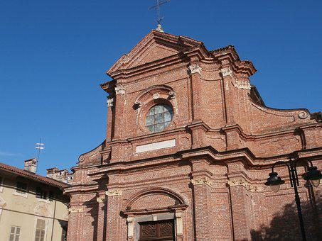 Church, Duomo, Peter, Paul, Villafalletto, Wedge