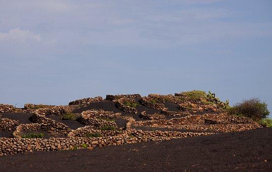Volcanic, Ash, Lava, Walls, Stone, Stone Wall, Old