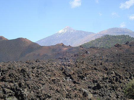Tenerife, Lava, Volcano, Teide, Nature, National Park