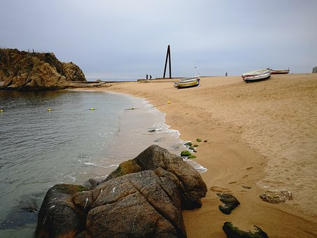 Beach, Water, Costa Brava