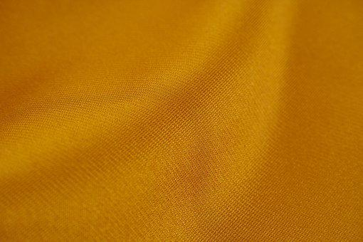Yellow, Fabric, Textile, Macro, Detail, Design